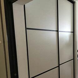 Встроенный шкаф-купе № 1090