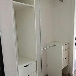 Встроенный шкаф-купе № 1091