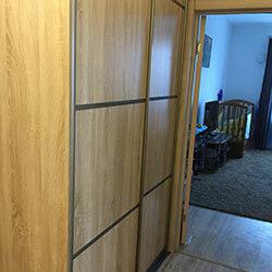 Встроенный шкаф-купе № 1093