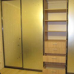 Встроенный шкаф-купе № 0120