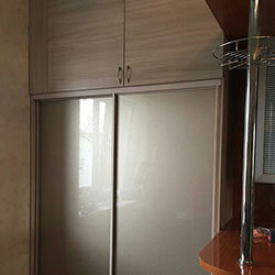 Встроенный шкаф-купе № 1099