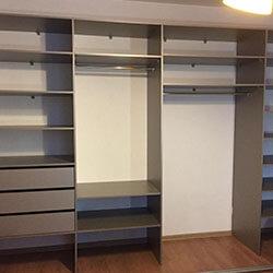 Встроенный шкаф-купе № 1107