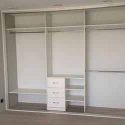 Встроенный шкаф-купе № 0011