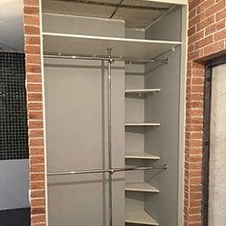 Встроенный шкаф-купе № 1102