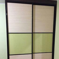 Встроенный шкаф-купе № 1121
