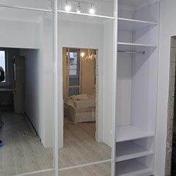 Встроенный шкаф-купе № 0123