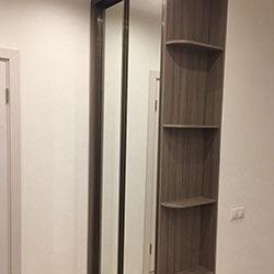 Встроенный шкаф-купе № 1129