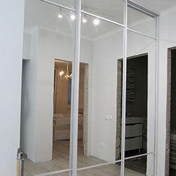 Встроенный шкаф-купе № 0124