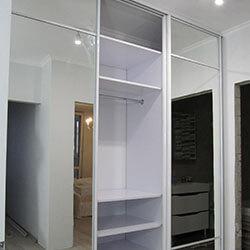 Встроенный шкаф-купе № 0125