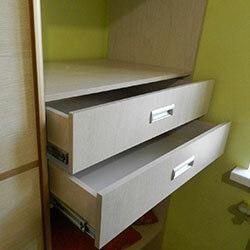 Встроенный шкаф-купе № 0128