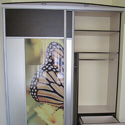 Встроенный шкаф-купе № 0132