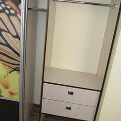 Встроенный шкаф-купе № 0133