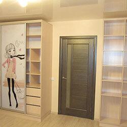 Встроенный шкаф-купе № 0135