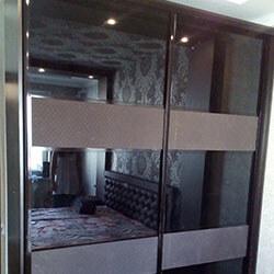 Встроенный шкаф-купе № 0013