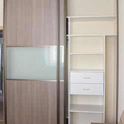 Встроенный шкаф-купе № 0141