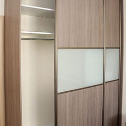 Встроенный шкаф-купе № 0142