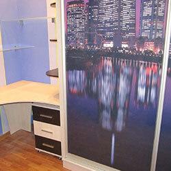Встроенный шкаф-купе № 0150