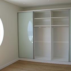 Встроенный шкаф-купе № 0154
