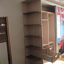 Встроенный шкаф-купе № 0158