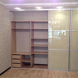 Встроенный шкаф-купе № 0161
