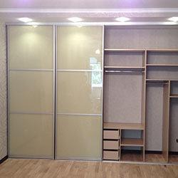 Встроенный шкаф-купе № 0162