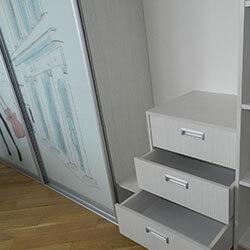 Встроенный шкаф-купе № 0165