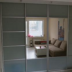 Встроенный шкаф-купе № 0169