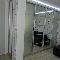 Встроенный шкаф-купе № 0174