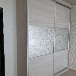 Встроенный шкаф-купе № 0175