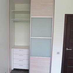 Встроенный шкаф-купе № 0179