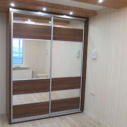 Встроенный шкаф-купе № 0180