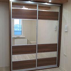 Встроенный шкаф-купе № 0181