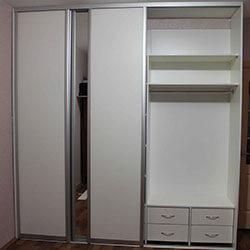 Встроенный шкаф-купе № 0191