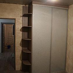 Встроенный шкаф-купе № 0196