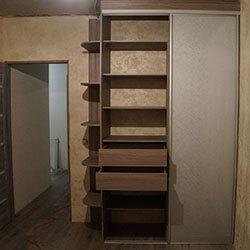 Встроенный шкаф-купе № 0197