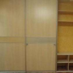 Встроенный шкаф-купе № 0201