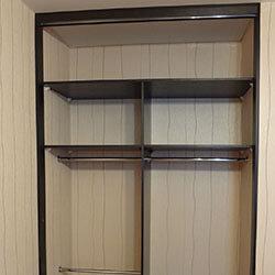 Встроенный шкаф-купе № 0213