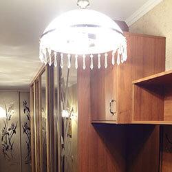Встроенный шкаф-купе № 0214