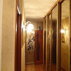 Встроенный шкаф-купе № 0218