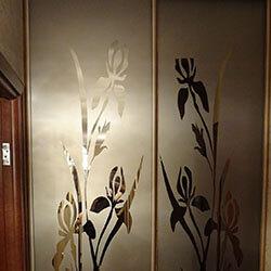 Встроенный шкаф-купе № 0220
