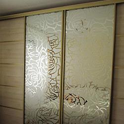 Встроенный шкаф-купе № 0221