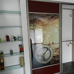 Встроенный шкаф-купе № 0224