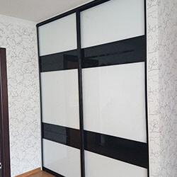 Встроенный шкаф-купе № 0025