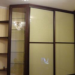 Встроенный шкаф-купе № 0226