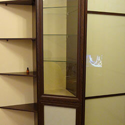 Встроенный шкаф-купе № 0228