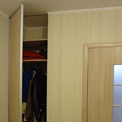 Встроенный шкаф-купе № 0232
