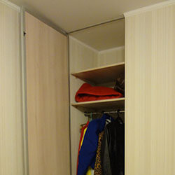 Встроенный шкаф-купе № 0233