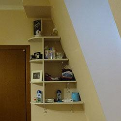 Встроенный шкаф-купе № 0236