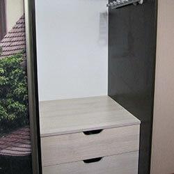 Встроенный шкаф-купе № 0244