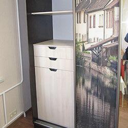 Встроенный шкаф-купе № 0245